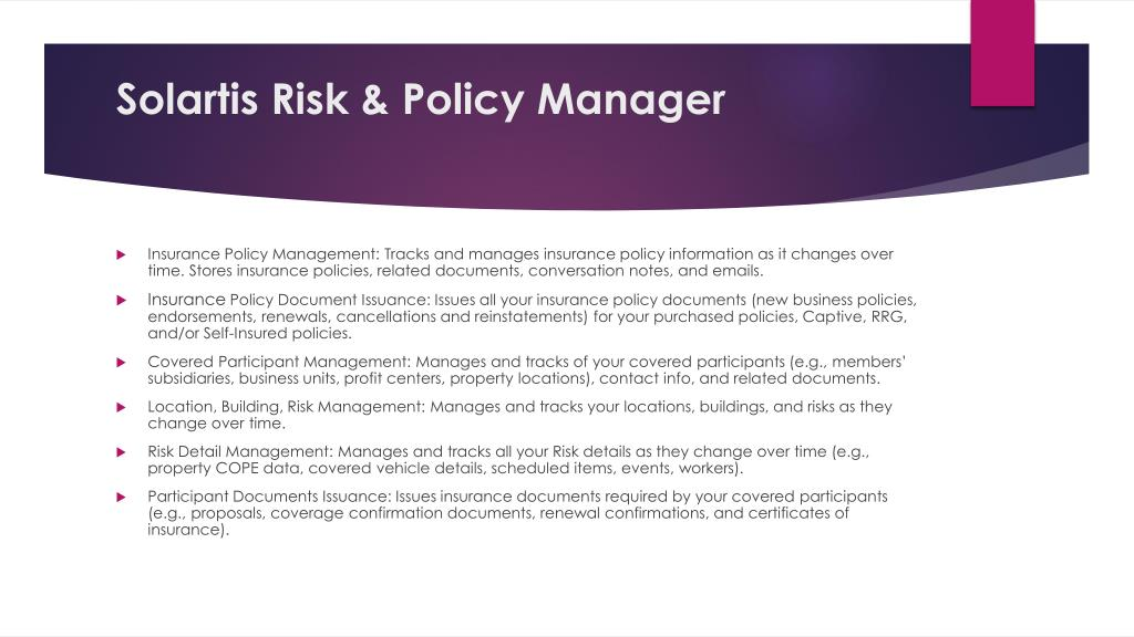 PPT - Insurance policy life cycle PowerPoint Presentation ...