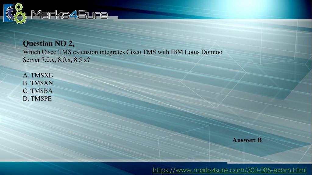 PPT - 300-085 Exam PowerPoint Presentation - ID:7489847