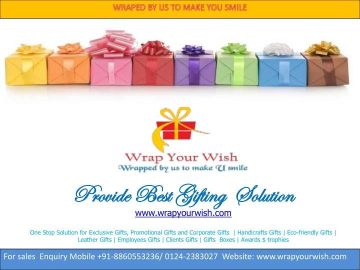 PPT - Buy corporate gifts in Delhi Ncr, corporate gifts India