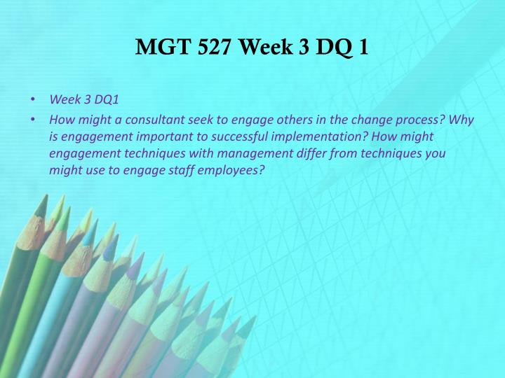 mgt 426 week 5 discussion questions