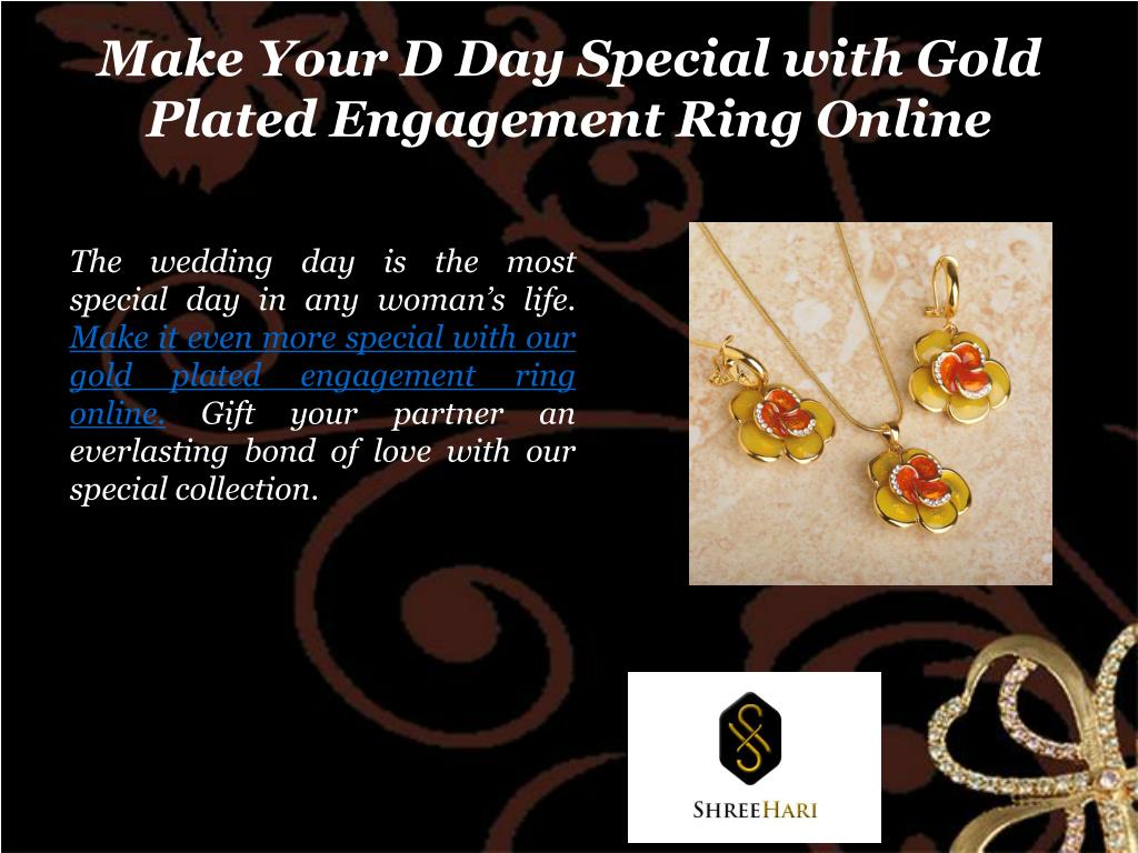 PPT - Look Fabulous With Our Gold Plated Jewellery Online PowerPoint