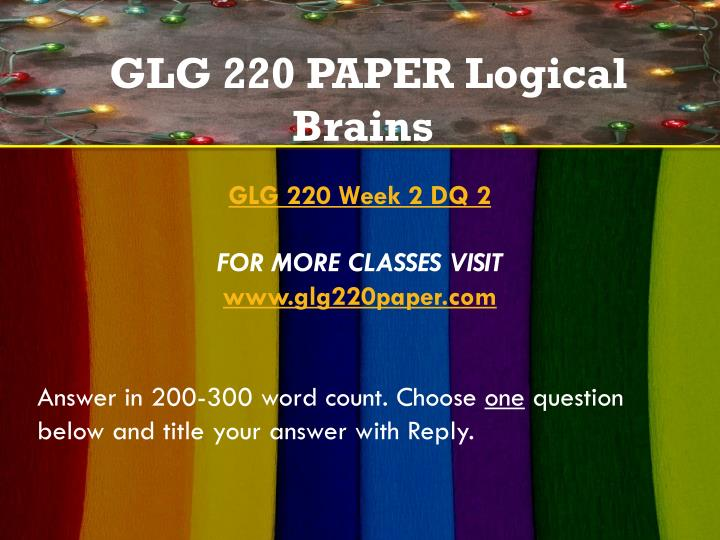 glg 101 week 2 dq 2 For more classes visit wwwsnaptutorialcom answer in 200-300 word count choose one question below and title your answer with reply describe the hydrologic cycle.