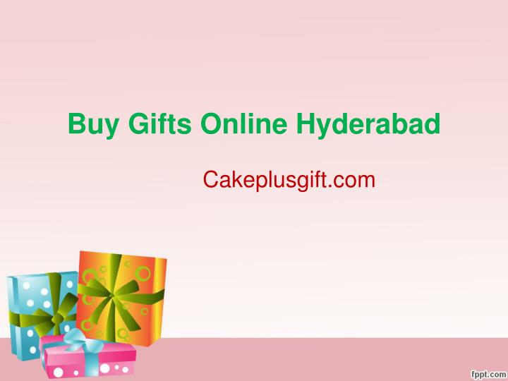 Buy Gifts Online Hyderabad