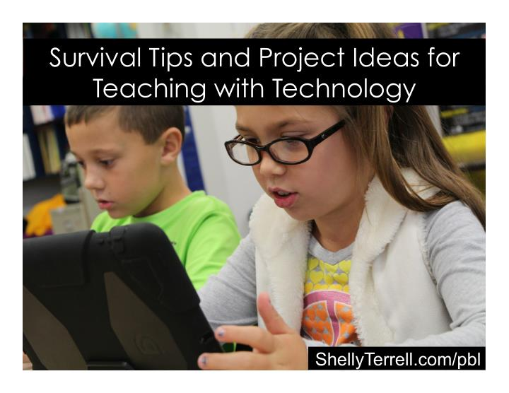 survival tips and project ideas for teaching with n.