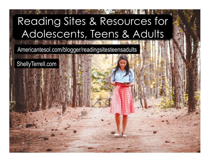 reading sites resources for adolescents teens n.