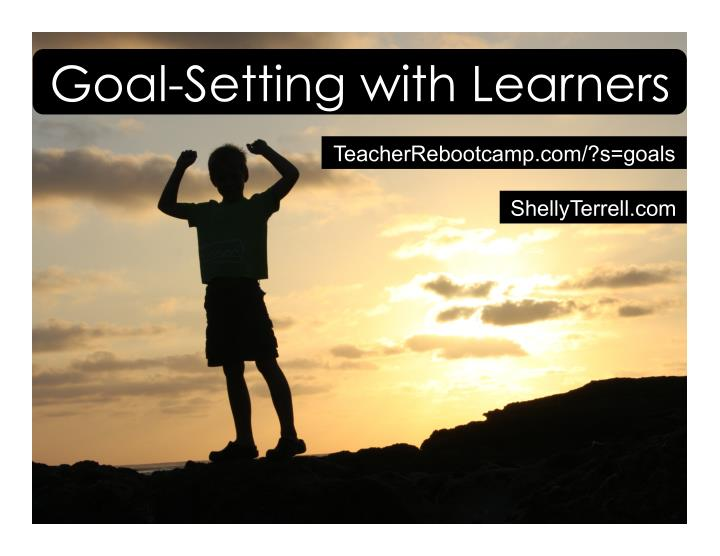 goal setting with learners n.