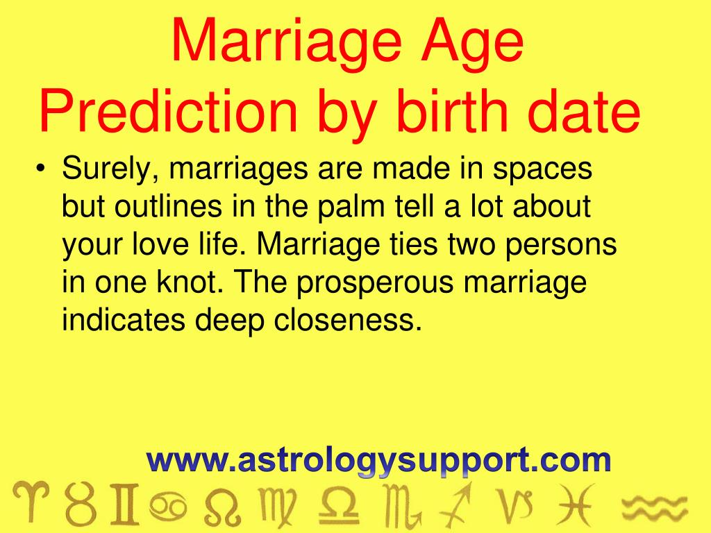 PPT - Marriage prediction 2017 PowerPoint Presentation - ID:7493445