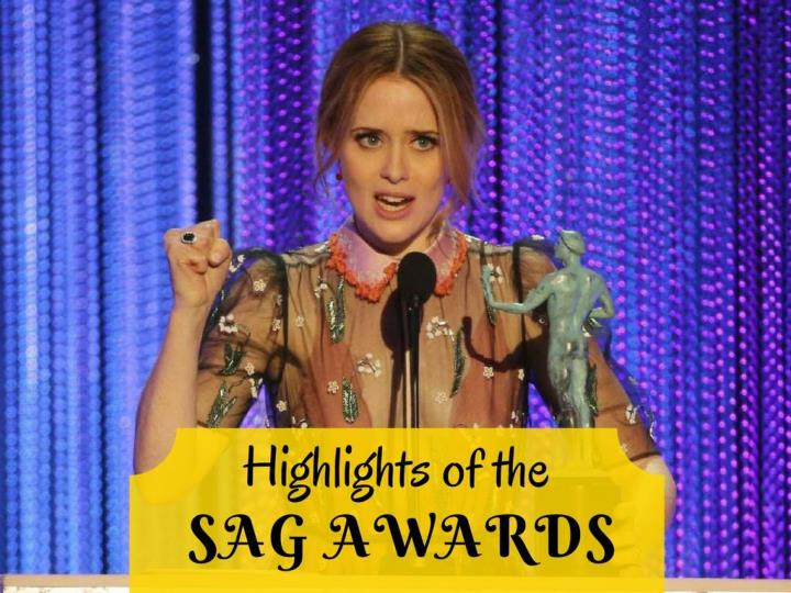 highlights of the sag awards n.