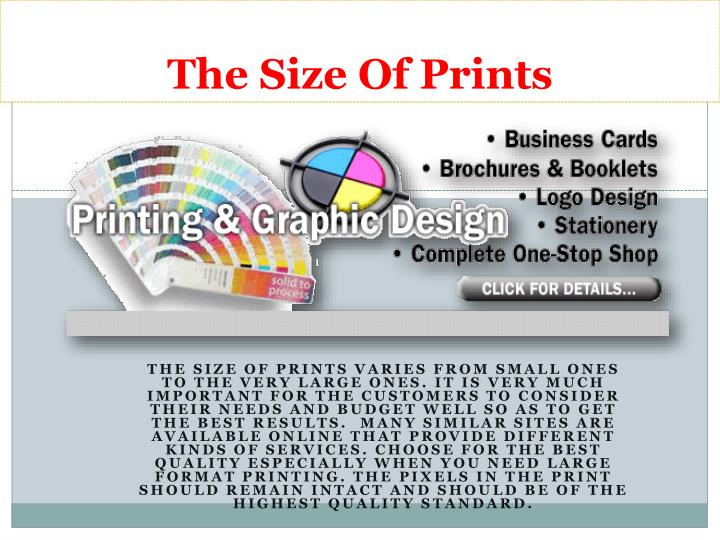 Ppt las vegas professional printing services powerpoint the size of prints reheart Choice Image