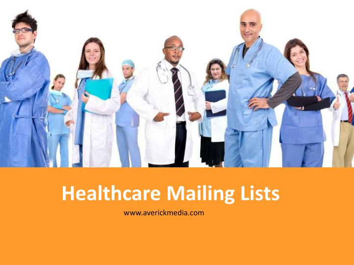healthcare mailing lists n.