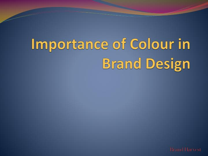 importance of colour in brand design n.