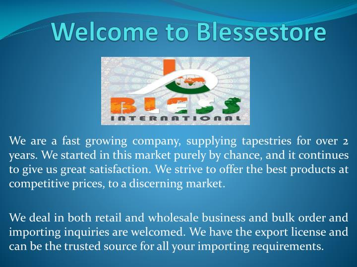 welcome to b lessestore n.