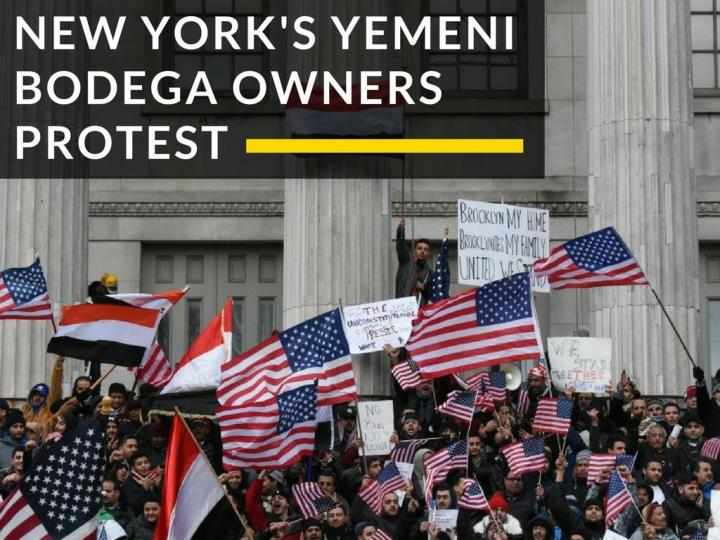 new york s yemeni bodega proprietors protest n.