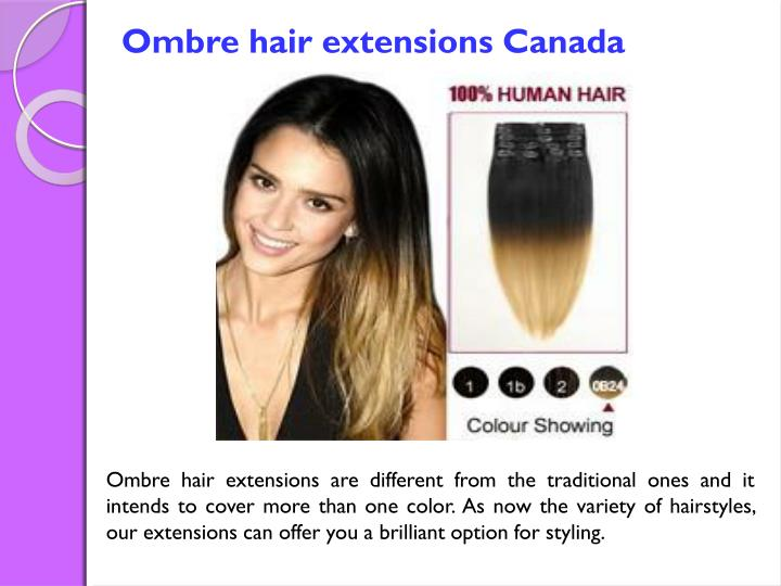 Ppt Clip In Hair Extensions Canada Powerpoint Presentation Id