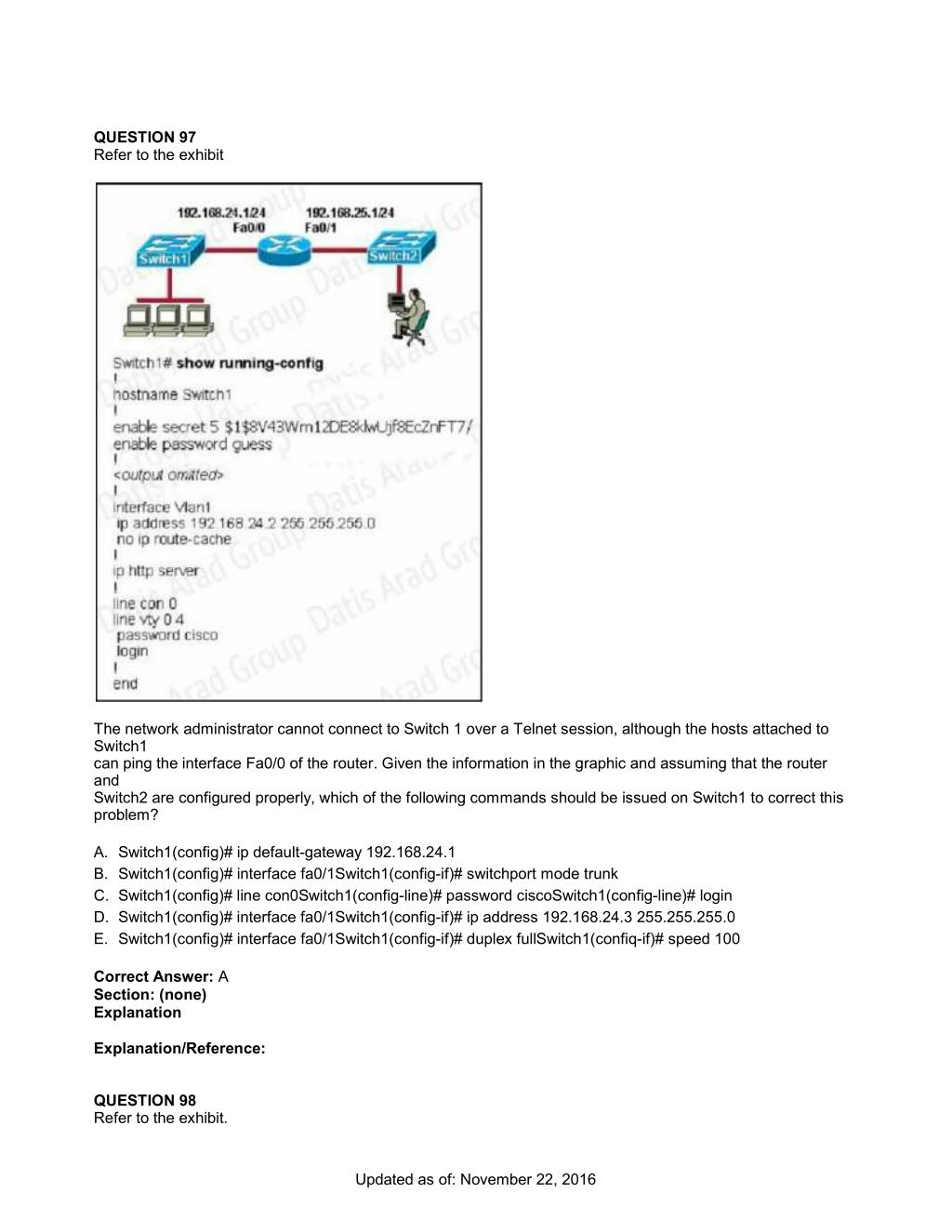 PPT - CCNA Exam 200-125 PowerPoint Presentation - ID:7499941