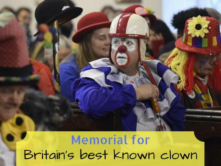 commemoration for britain s best known clown n.