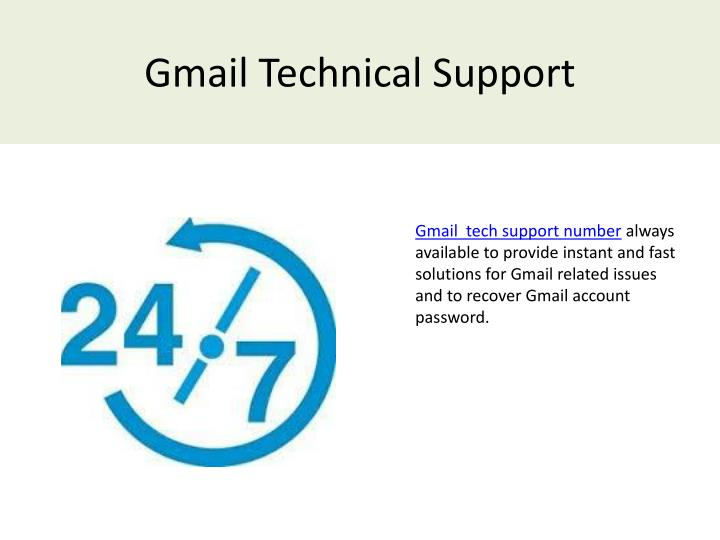 gmail technical support n.