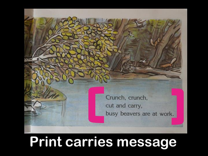 Print carries message
