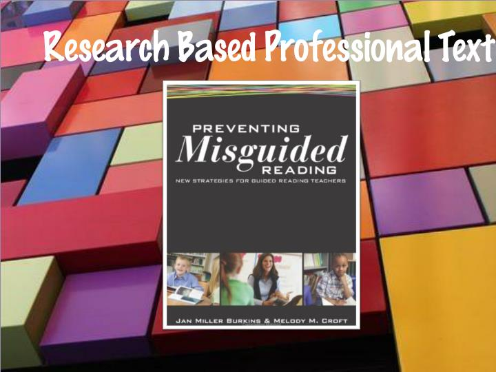 Research based professional text