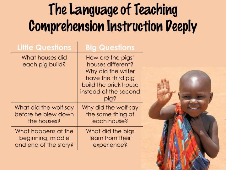 The Language of Teaching