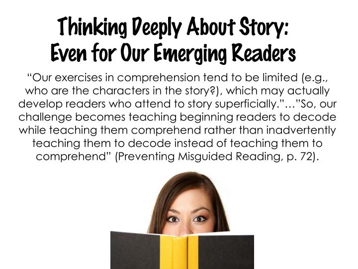 Thinking Deeply About Story: