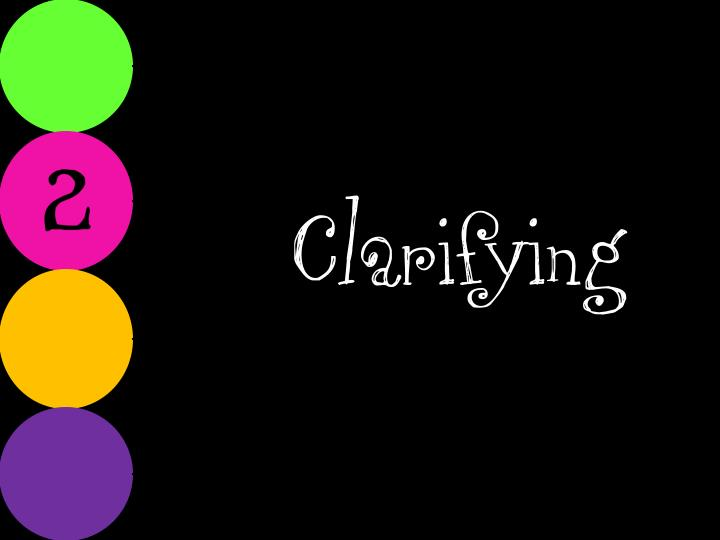 Clarifying
