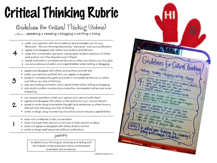 developing critical thinking skills in elementary students