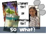 literary text or informational text