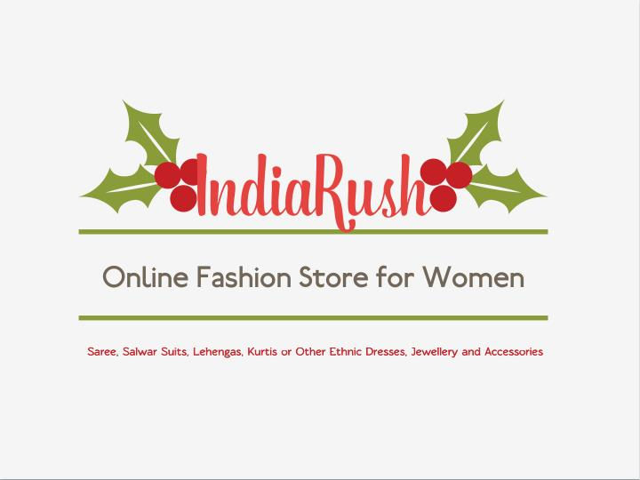 indiarush online fashion store for women n.
