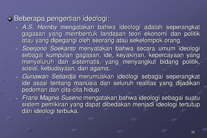 PPT - ppt pancasila sebagai sistem filsafat PowerPoint ...