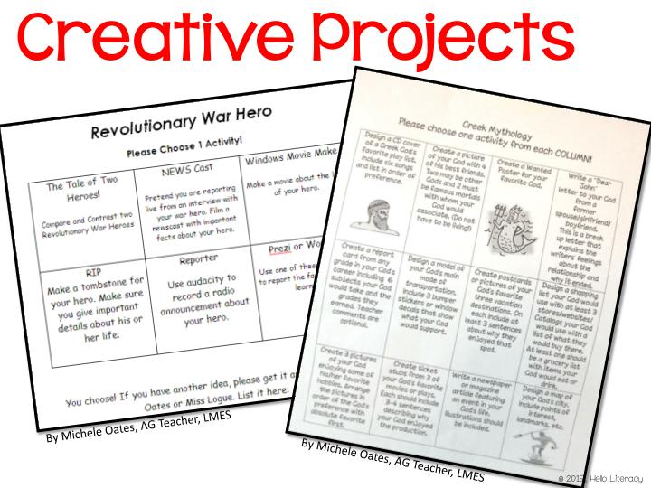Creative Projects