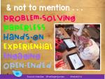not to mention problem solving paperless hands