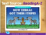 text source readinga z