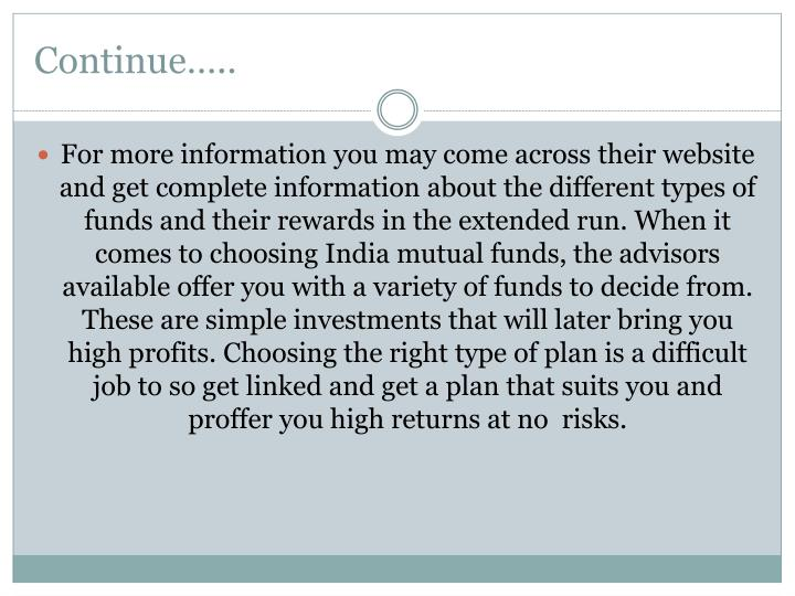 how to choose mutual funds