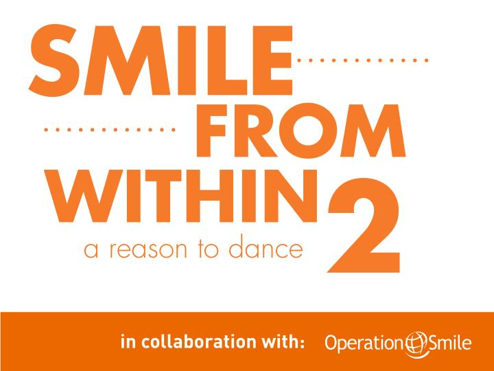 Smile within a reason to dance