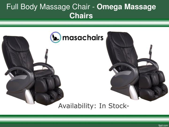 Full Body Massage Chair   Omega Massage Chairs