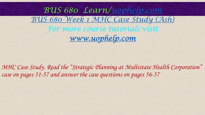 mhc case study