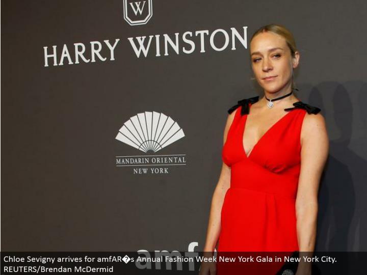 Chloe Sevigny touches base for amfAR�s Annual Fashion Week New York Gala in New York City. REUTERS/Brendan McDermid