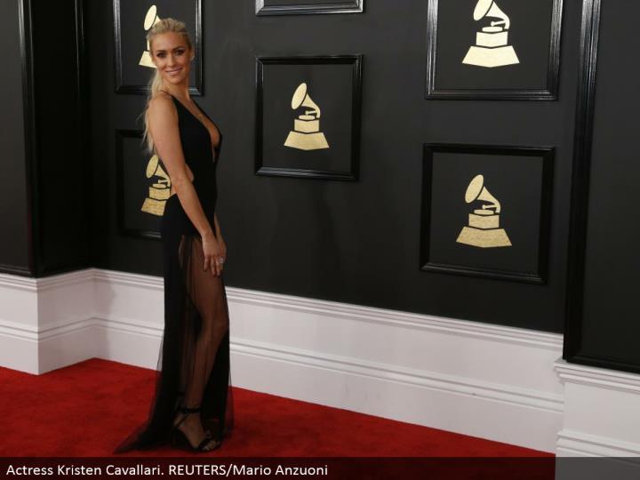 Actress Kristen Cavallari. REUTERS/Mario Anzuoni