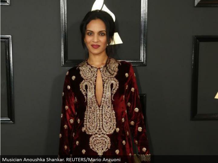 Musician Anoushka Shankar. REUTERS/Mario Anzuoni