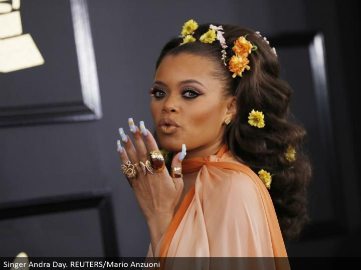 Singer Andra Day. REUTERS/Mario Anzuoni