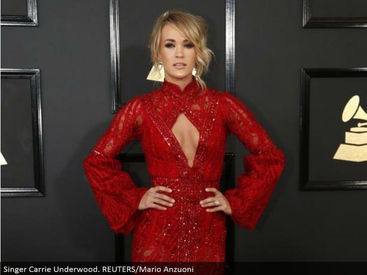 Singer Carrie Underwood. REUTERS/Mario Anzuoni