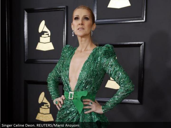 Singer Celine Deon. REUTERS/Mario Anzuoni