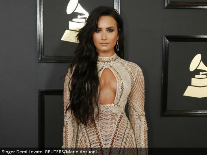 Singer Demi Lovato. REUTERS/Mario Anzuoni