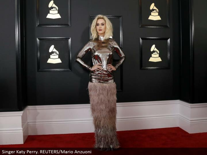 Singer Katy Perry. REUTERS/Mario Anzuoni