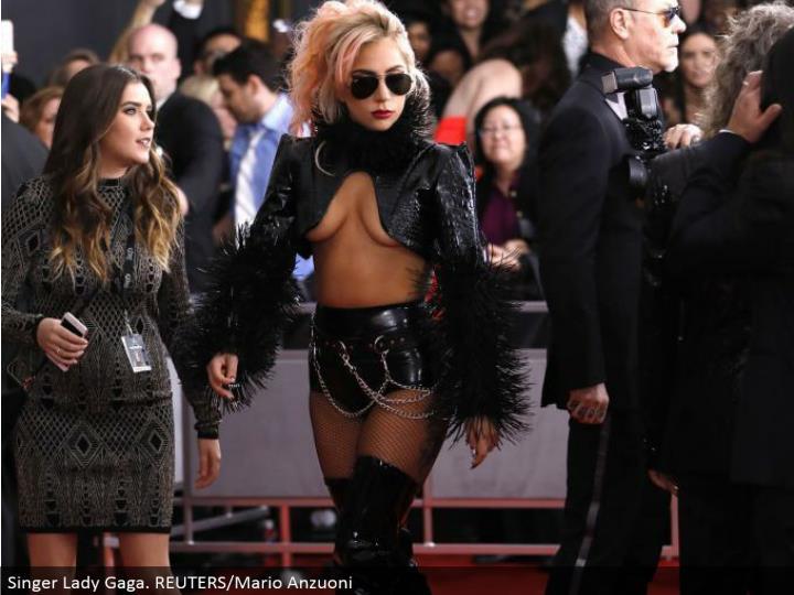Singer Lady Gaga. REUTERS/Mario Anzuoni