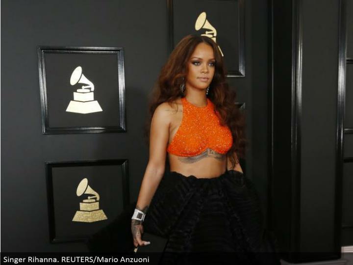 Singer Rihanna. REUTERS/Mario Anzuoni