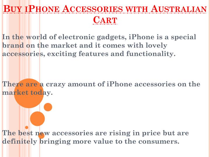 buy iphone accessories with australian cart n.