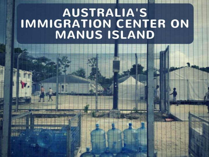 australia s relocation concentrate on manus island n.