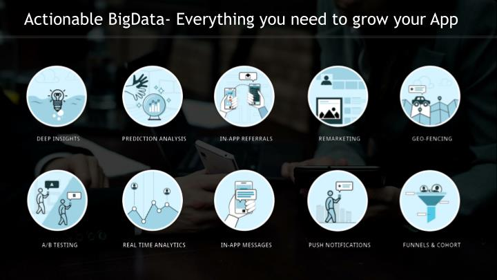 Actionable BigData- Everything you need to grow your App